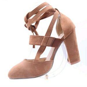 Shoes - Womens high block heels